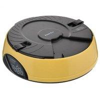 Автокормушка «Feed-Ex PF6 Yellow» - автоматическая кормушка для кошек и средних пород собак