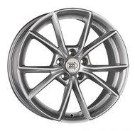 Колесный диск 1000 Miglia MM035 8 \R18 5x112 ET39.0 D66.6 Silver Gloss - фото 1