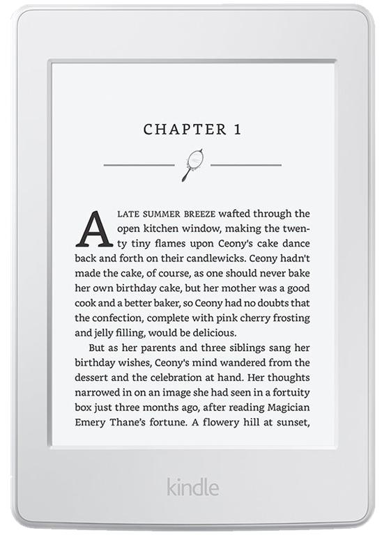 Электронная книга Amazon Kindle Paperwhite 2016 SO (белая)