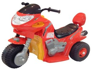 Электромобиль TCV Детский электромотоцикл -520 HAWK красный
