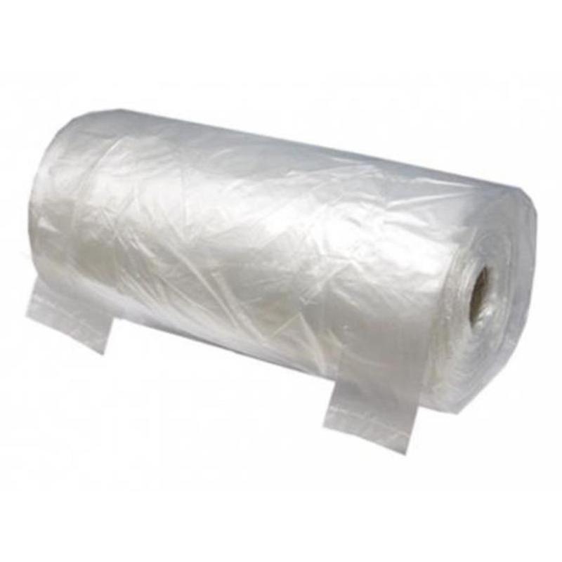 Пакет-майка фасовочный на втулке, ПНД, 28+17х55 см, 13 мкм, 250 штук, прозрачный