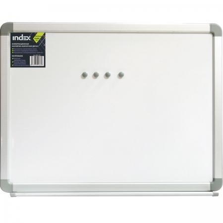 Доска магнитно-маркерная, 45х60 см, улучшенная металлическая рама IWB-302