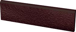 Клинкерный плинтус Paradyz Natural Brown Duro 81x300 рельефная
