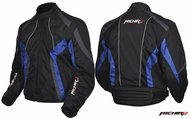 Куртка мотоциклетная (текстиль) Summer Metropolis черно-синий S MICHIRU 4620770793818