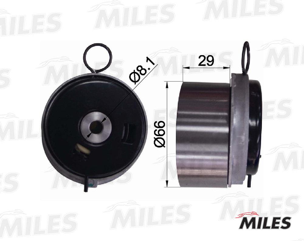 Ролик ремня грм opel z16xer/z18xer AG02018 Miles AG02018