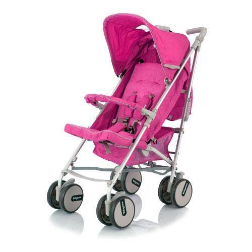 Коляска Baby Care Premier Pink