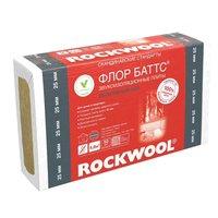 теплоизоляция rockwool флор баттс 1000х600х25 мм