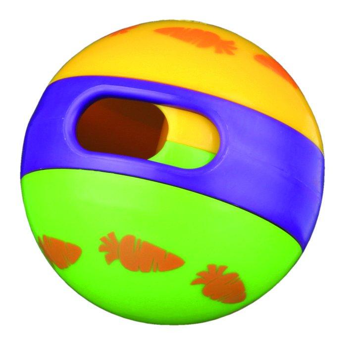 Игрушка для грызунов TRIXIE Мяч для лакомств для кроликов, 6см