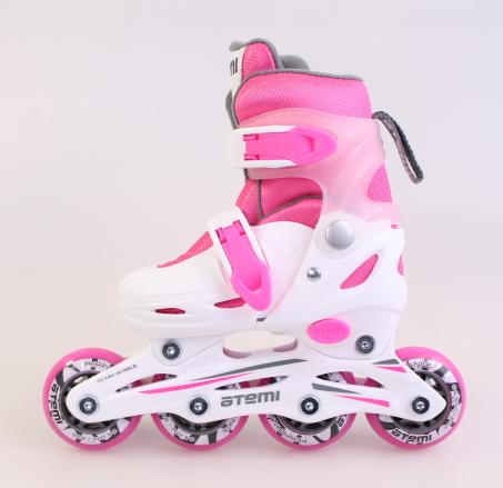 Роликовые коньки Atemi Neon Ajis 12.05 розовые