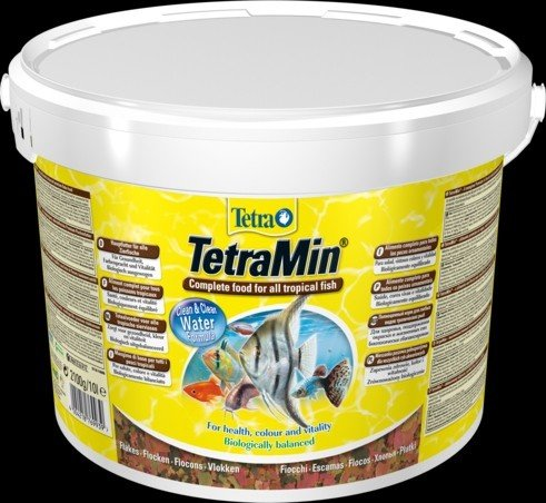 """Корм для аквариумных рыб """"Tetra Min"""" (хлопья), 10 л"""