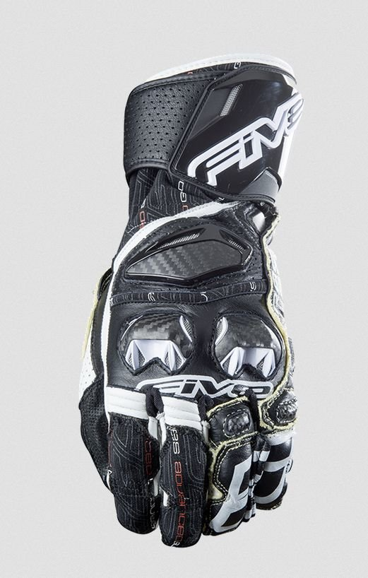 Перчатки Five перчатки rfx race черно/белые 8/S