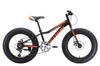 Велосипед Stark Rocket Fat 20.1 D (2018) чёрный/оранжевый one size