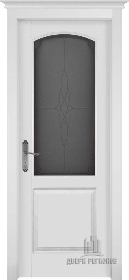 Белорусские двери из массива ольхи фоборг (Эмаль белая ПО)