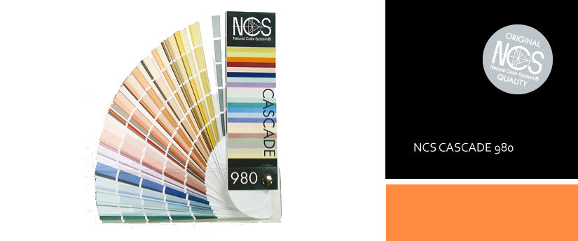 NCS CASCADE 980 цветовой справочник