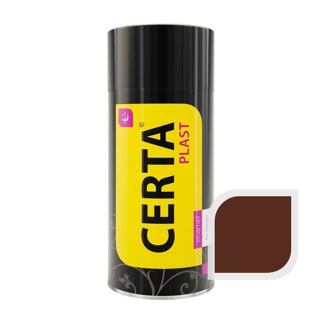 Эмаль по металлу ЦЕРТА-ПЛАСТ шоколад 520 мл