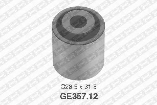 Ролик обводной ремня грм audi 80/a4/a6, vw golf 1.9tdi 91 Snr GE35712