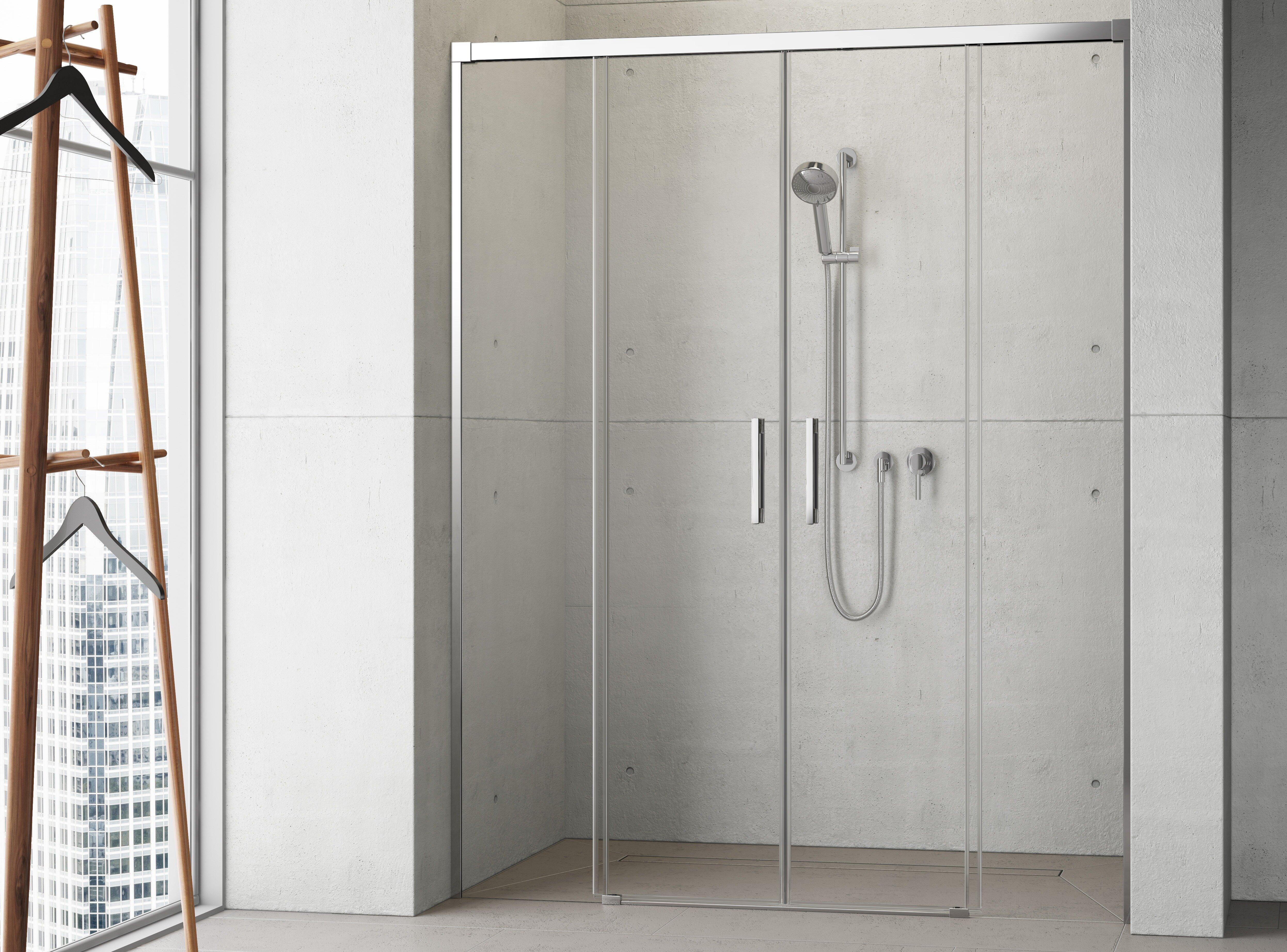 Стеклянная душевая дверь Radaway Idea DWD 160 см [387126-01-01]