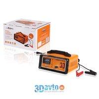Зарядное устройство аккумулятора 15А AIRLINE 12В/24В, амперметр, ручная регулировка зарядного тока