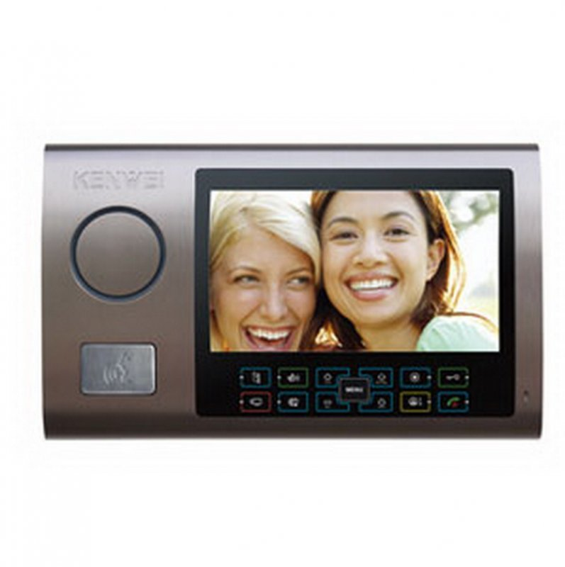 Монитор видеодомофона Kenwei KW-S701C бронза Vizit