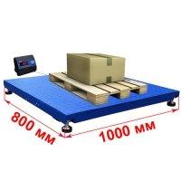 Мидл Весы платформенные 1000х800мм «Циклоп»