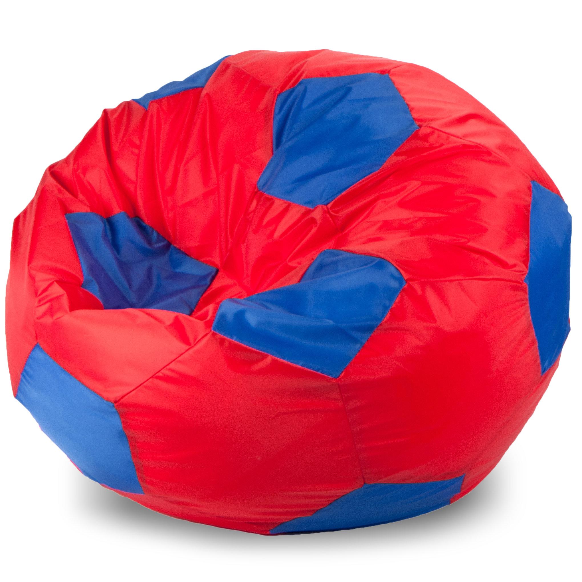 Кресло-мешок мяч XL, Оксфорд Красный и синий