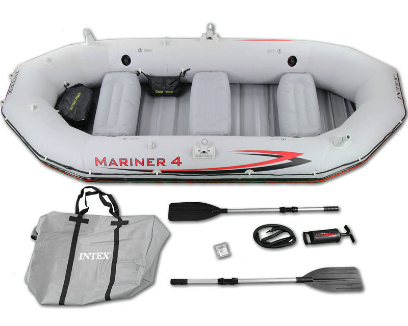 Лодка Mariner-4 Set, 328 х 145 х 48 см Intex