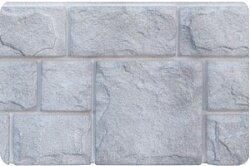 Фасадная панель (цокольный сайдинг) Grand Line Екатерининский камень Серебро