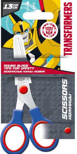 Ножницы Transformers 13см со скругленными концами лезвий и с пластиковым чехлом