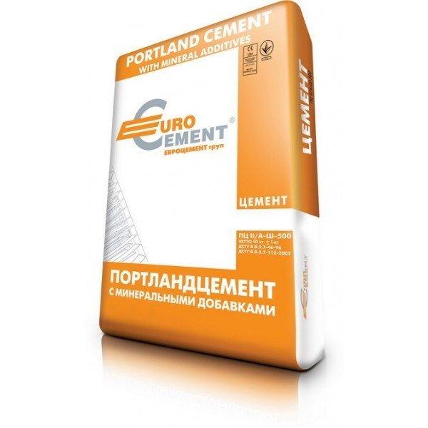 Цемент Евроцемент М500 50кг