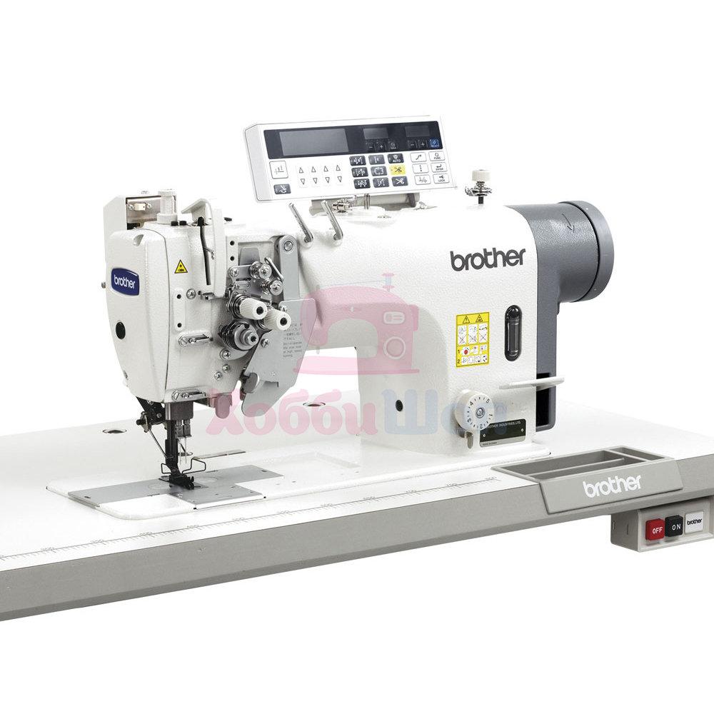 Промышленная двухигольная швейная машина Brother T-8450C