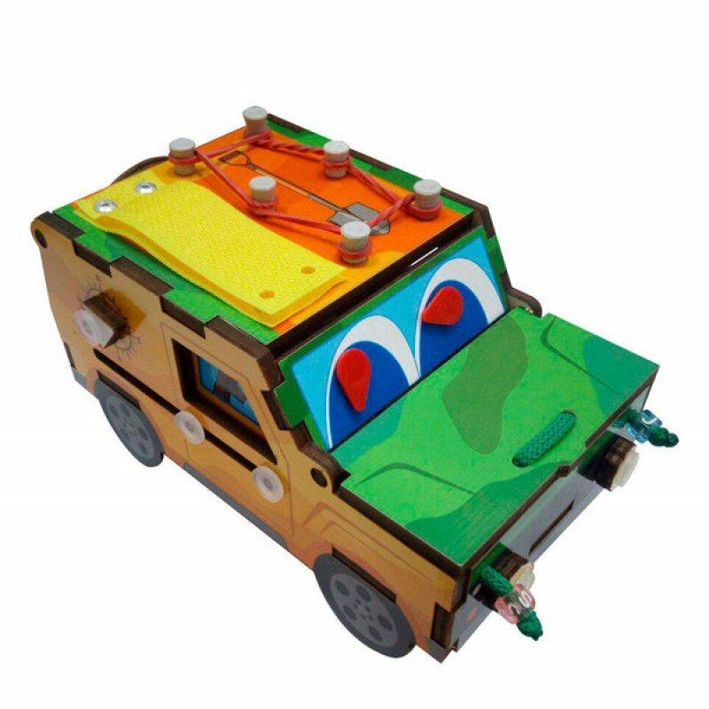 Игра развивающая Бизи-машинка Мастер игрушек IG0291