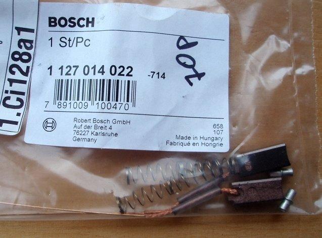 Комплект щеток стартера/генератора bmw/audi/vw/opel/mercedes/saab/volvo/fiat/citroen Bosch арт. 1127014022