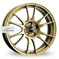 Диск OZ Ultraleggera 8x18/5x114,3 ЕТ48 D75 Race Gold - фото 1