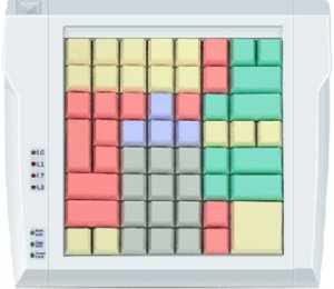 POS-клавиатура LPOS-064-Mxx программируемая USB / POSUA