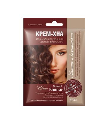 Крем хна для волос фитокосметик иранская натуральная