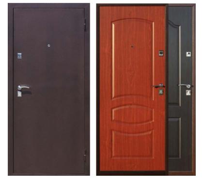 металлические двери 2 5 мм