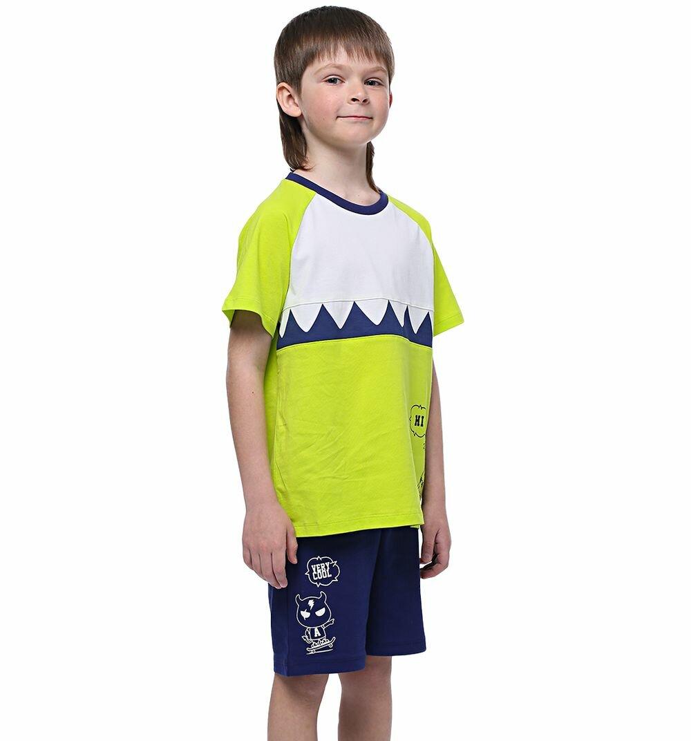 Комплект футболка/шорты Anta Small kids coldplay, для мальчиков, размер 98
