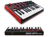 MIDI-клавиатура AKAI pro MPK-MINI MKII