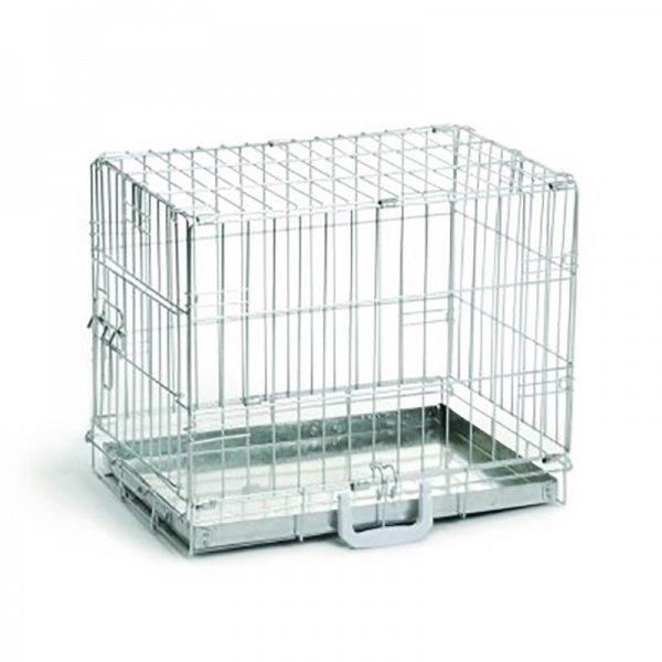 Beeztees Клетка для собак оцинкованая 49х36х40см