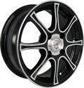 Литые диски NZ Wheels SH607 5.5x14/4x98 D58.6 ET35 Черный - фото 1