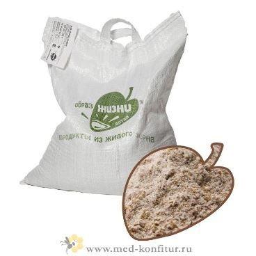 Мука пшеничная цельносмолотая 5 кг.