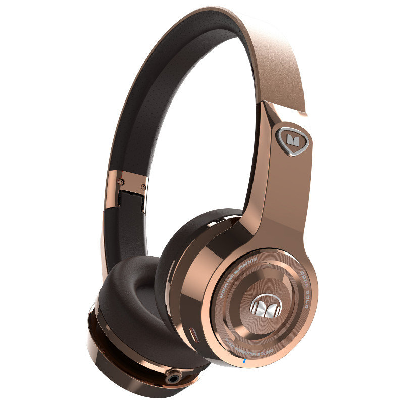 Наушники Monster Elements Wireless On-Ear Rose Gold (137055-00)
