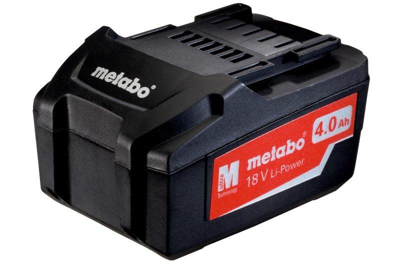 Аккумуляторный блок Metabo Li-Power 18 В 4,0 Ач 625591000