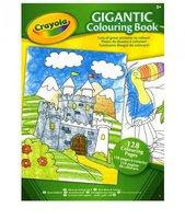Большая раскраска для детей из бумаги высшего сорта, 128 страниц от 3 лет Crayola 04-1407