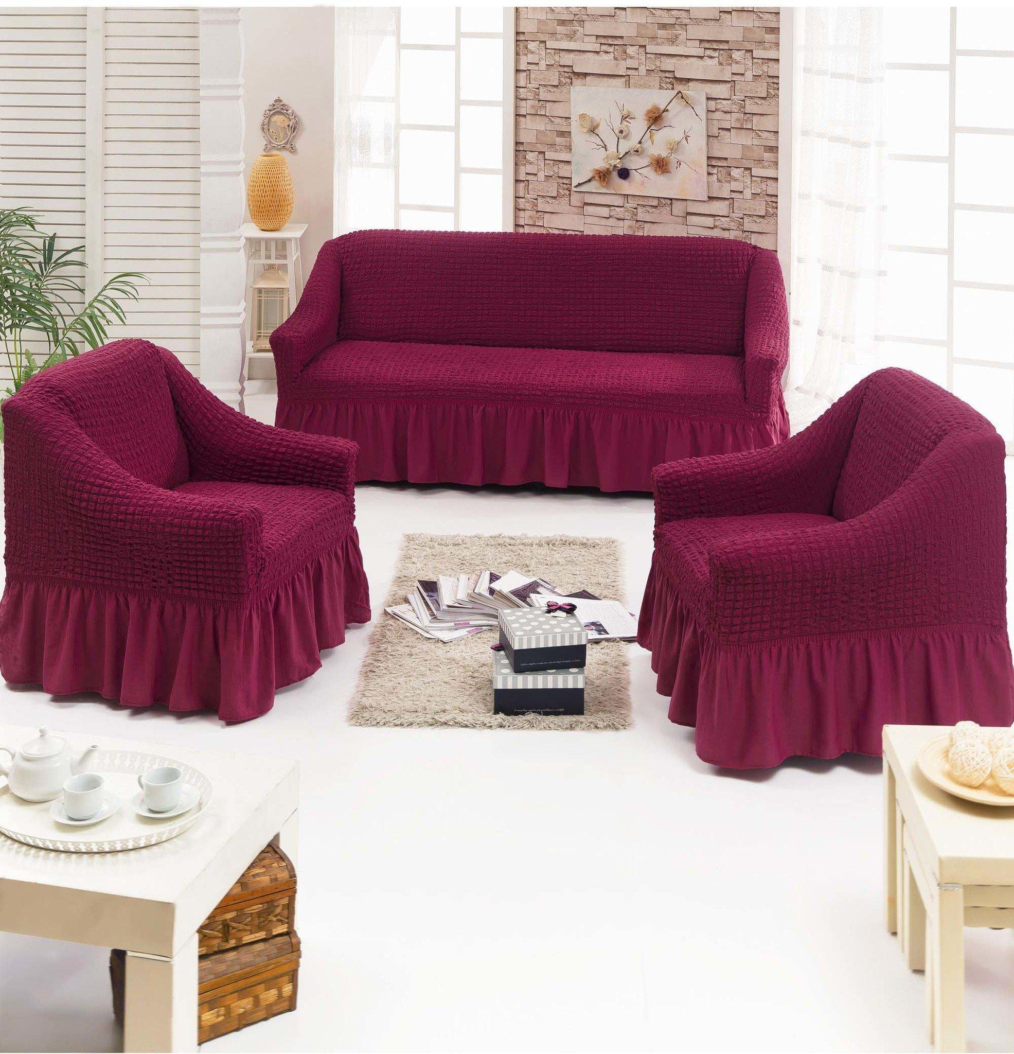 В спальню: Чехол для мягкой мебели из 3-х предметов : MTR0107