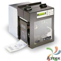 Принтер этикеток Zebra 110PAX4 термотрансферный 203 dpi темный, LCD, RS-232, LPT, подвижный сенсор, кабель, левосторонний, 112EL0E-00000