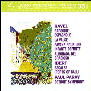 "Detroit Symphony Orchestra / Paray, Paul ""виниловая пластинка Orchestral Music by Maurice Ravel & Jacques Ibert (1 LP)"""