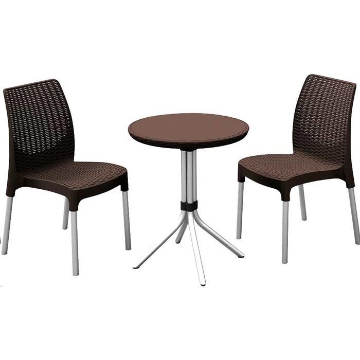Комплект мебели Keter Chelsea set, стол мозайка (17204266)