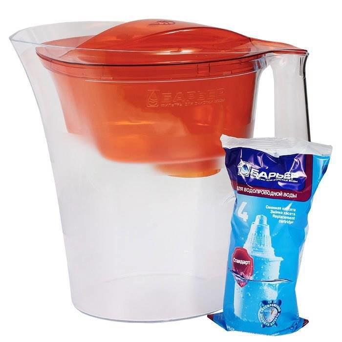 """Фильтр для воды барьер """"твист""""(оранжевый)"""
