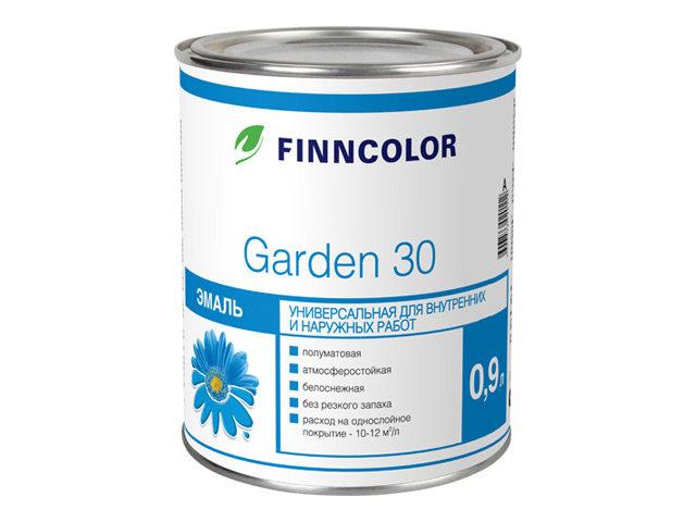 эмаль finncolor garden 30 a алкидная 0,9л
